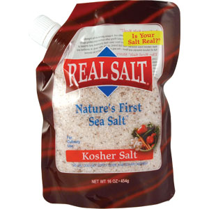 Redmond Real Salt Kosher Salt Refill Pouch 1 lb
