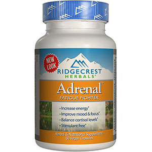 RidgeCrest Herbals Adrenal Fatigue Fighter 60 Capsules - 30 Servings