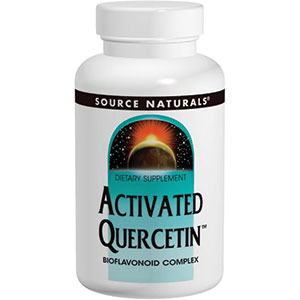 Source Naturals Activated Quercetin 100 Tablets - 33 Servings