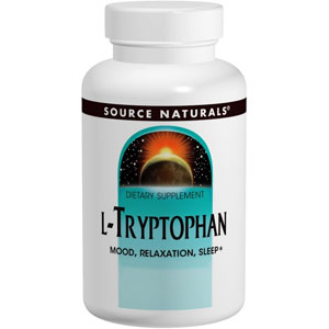 Source Naturals L-Tryptophan 120 Capsules