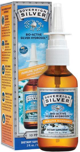 Sovereign Silver 2 Oz Nasal Spray