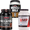 PROTEIN STACK! 30 Day Supply of Allmax HEXAPRO, Beverly UMP and Muscle Milk Powder