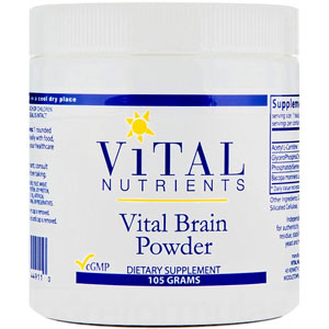 Vital Nutrients Vital Brain Powder 105 gm