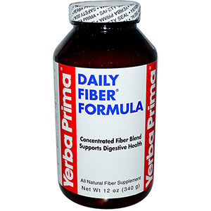 Yerba Prima Daily Fiber Formula 12 oz - 48 Servings