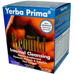 Yerba Prima Men's Rebuild Internal Cleansing System
